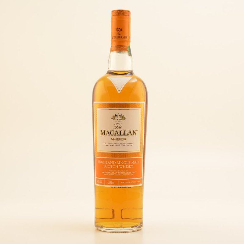 Macallan Amber Speyside Whisky 40% 0,7l (72,71 ...