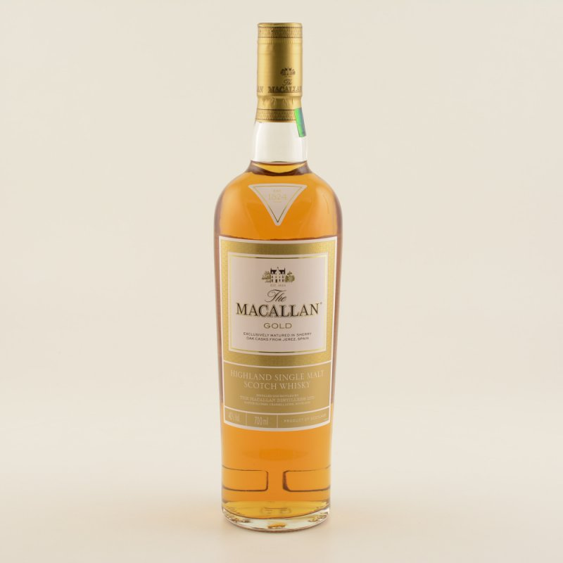 Macallan Gold Speyside Whisky 40% 0,7l (77,00 €...
