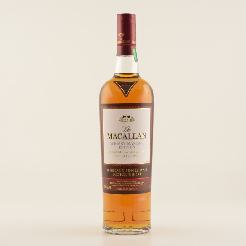 Macallan Makers Edition Whisky 42,8% 0,7l (124,...
