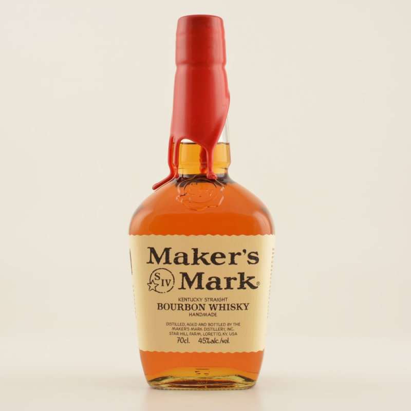 Makers Mark Red Seal Bourbon Whisky 45% 0,7l