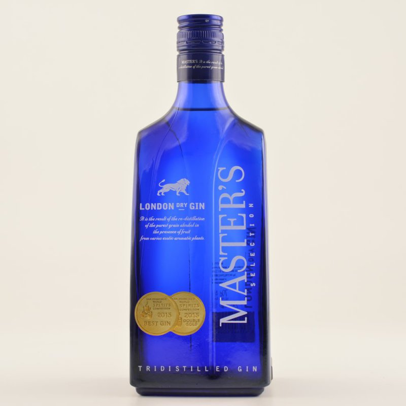 Master´s Dry Gin 40% 0,7l