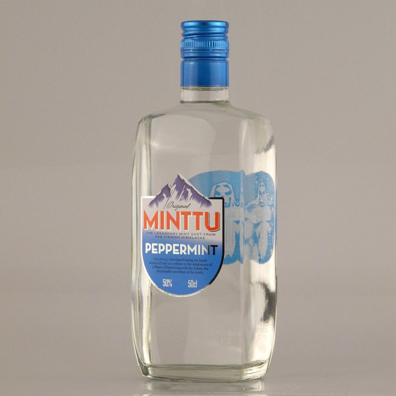 Minttu Peppermint Strong 50% 0,5l