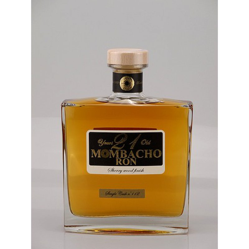 Mombacho Rum 21 Jahre Sherrywood 43% 0,7l