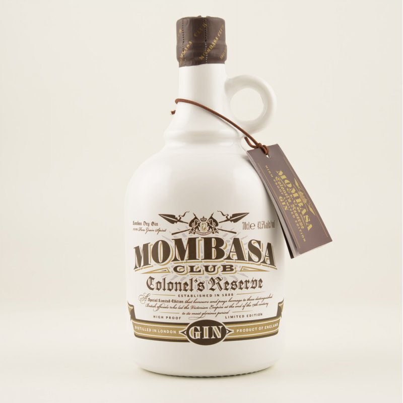 Mombasa Club Colonel´s Reserve London Dry Gin jetztbilligerkaufen