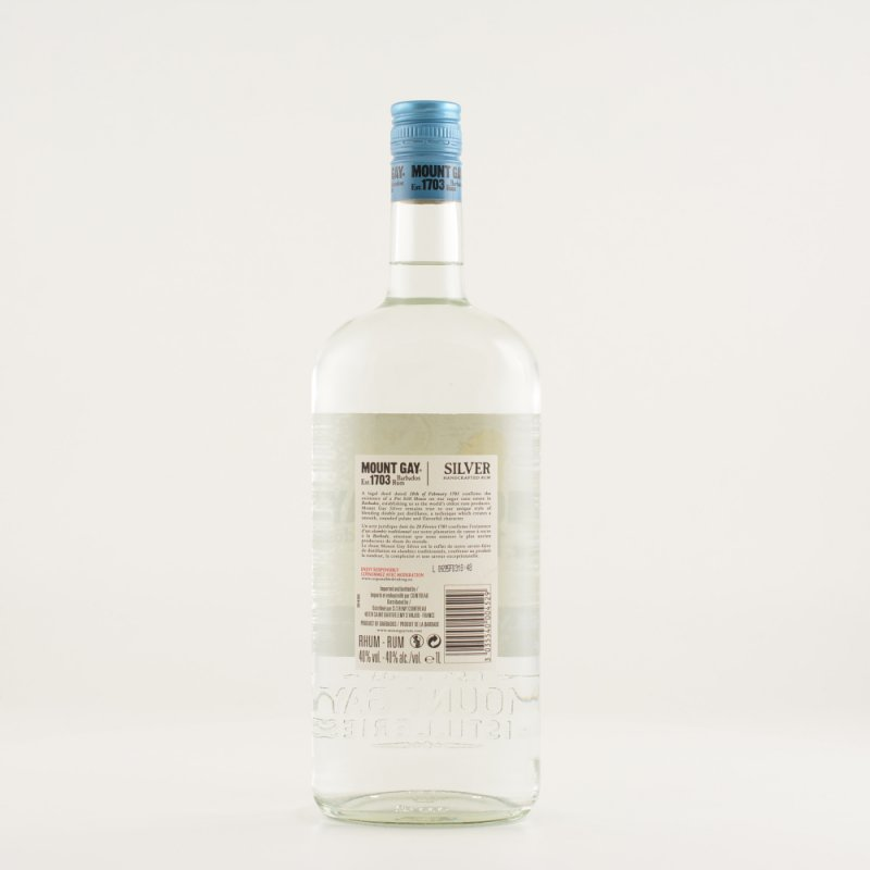 Mount Gay Rum Eclipse Silver 40% 1,0l