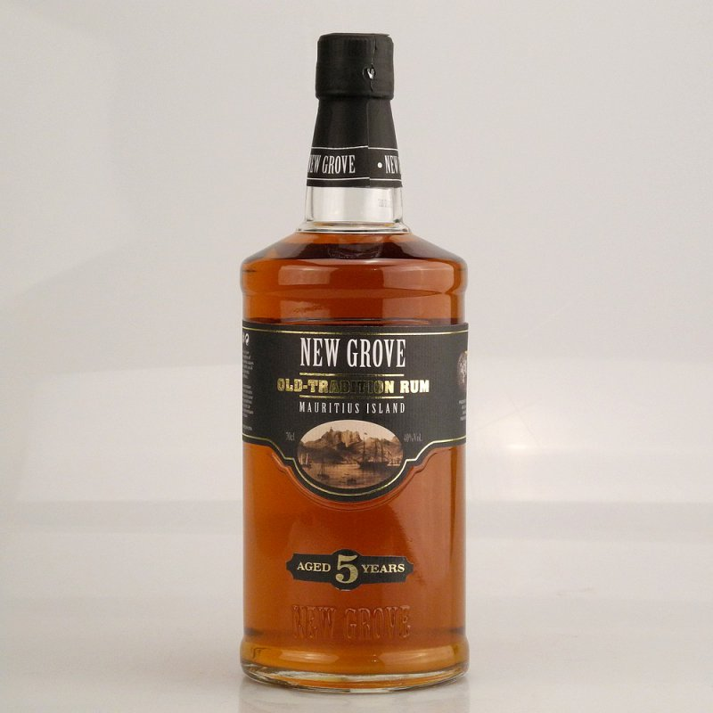 New Grove Old Tradition 5 Jahre Rum 40% 0,7l