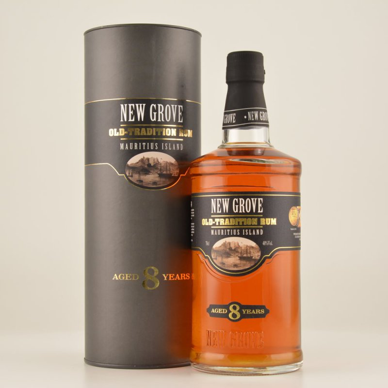 New Grove Old Tradition 8 Jahre Rum 40% 0,7l