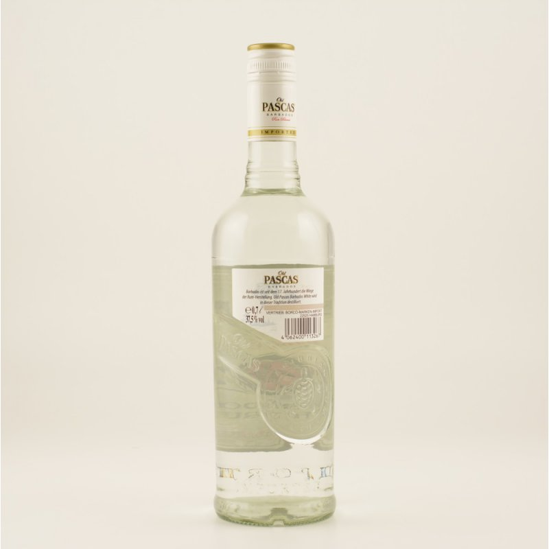 Old Pascas Ron Blanco White Rum 37,5% 0,7l