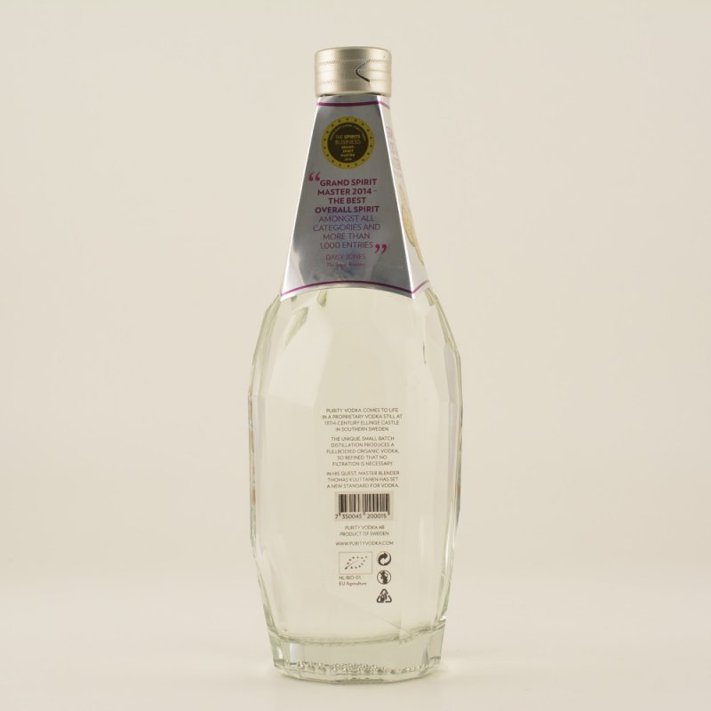 Purity Premium Vodka 34-fach destilliert ISW Gold 40% 0,7l