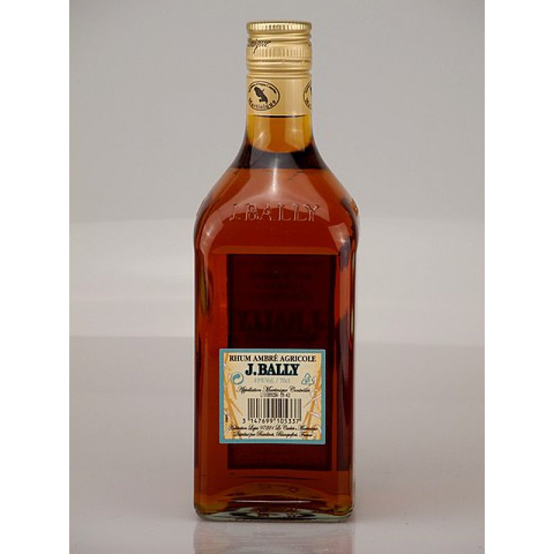 Rhum J Bally Agricole Martinique Ambre 45% 0,7l