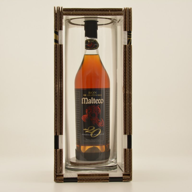 Ron Rum 20 Jahre Special Edition Kristall 41% 0,7l (97,00 € pro 1 l)