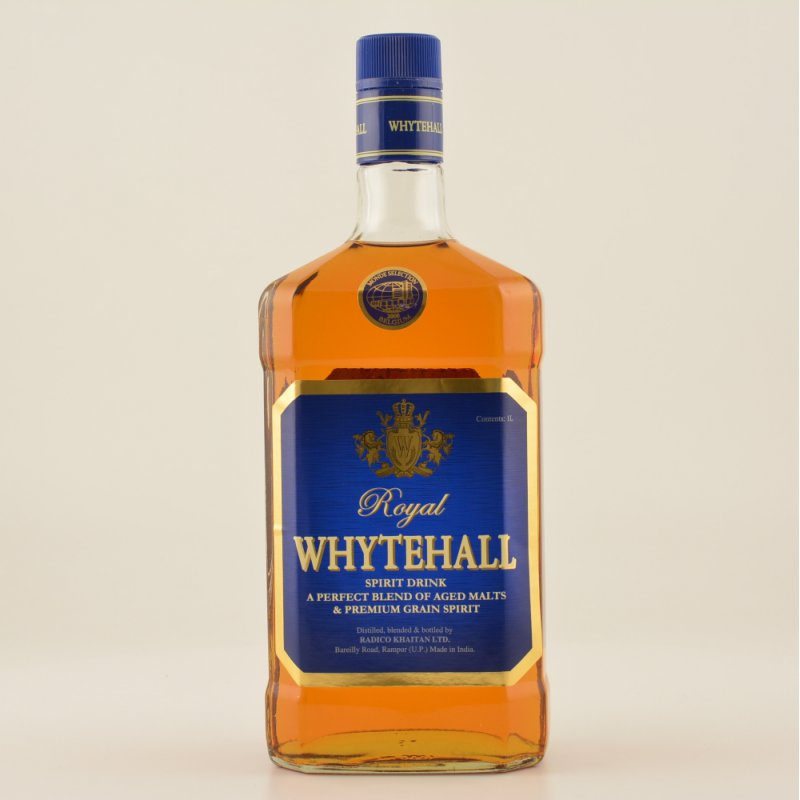 Royal Whytehall Indian Whisky 40% 1,0l (20,50 €...