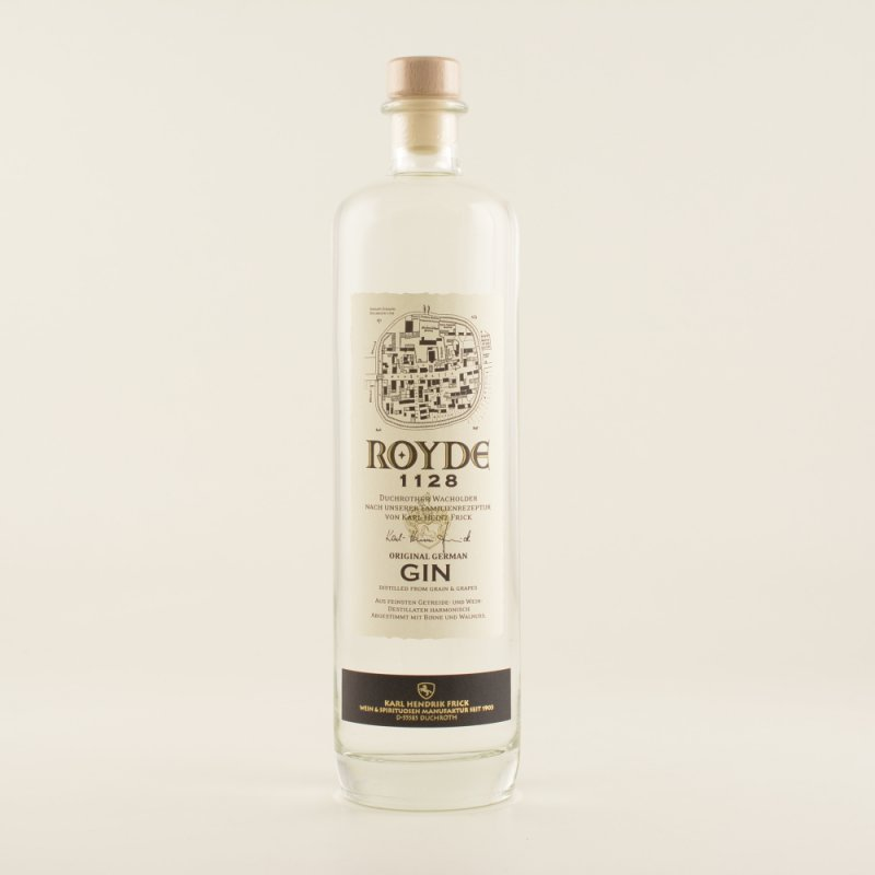 Royde 1128 Original German Dry Gin 40% 0,7l