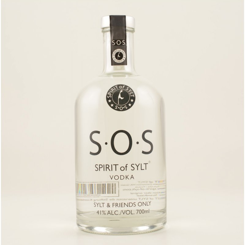 SOS - Spirit of Sylt Vodka Basic 41% 0,7l