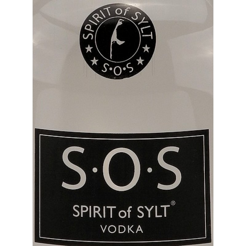SOS - Spirit of Sylt Vodka Premium 41% 0,7l