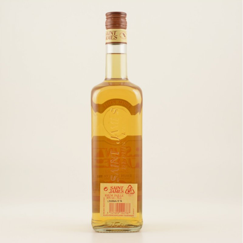 Saint James Rhum Paille 40% 0,7l