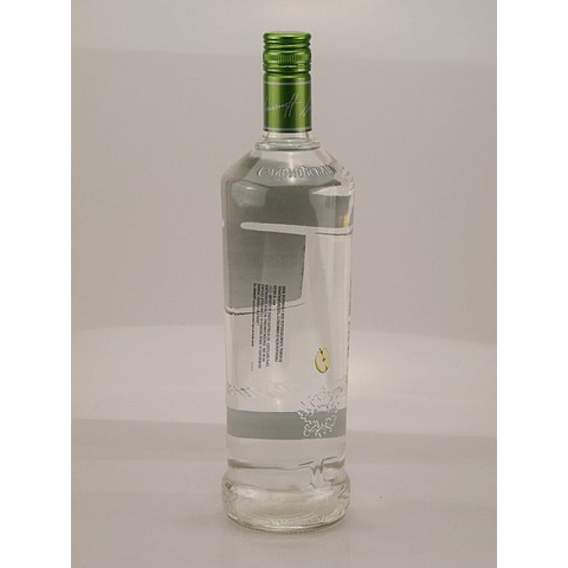 Smirnoff Twist Green Apple Vodka 37,5% 1,0l