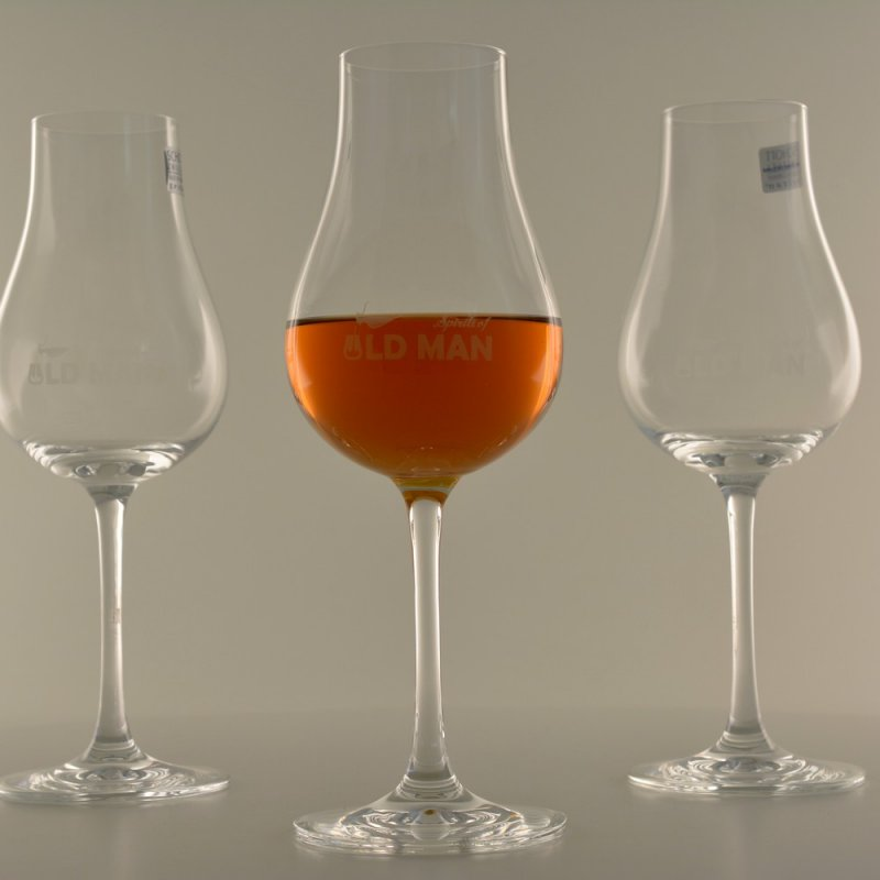 PURE RUM Nosing Glas by Spirits of Old Man (6er Set)