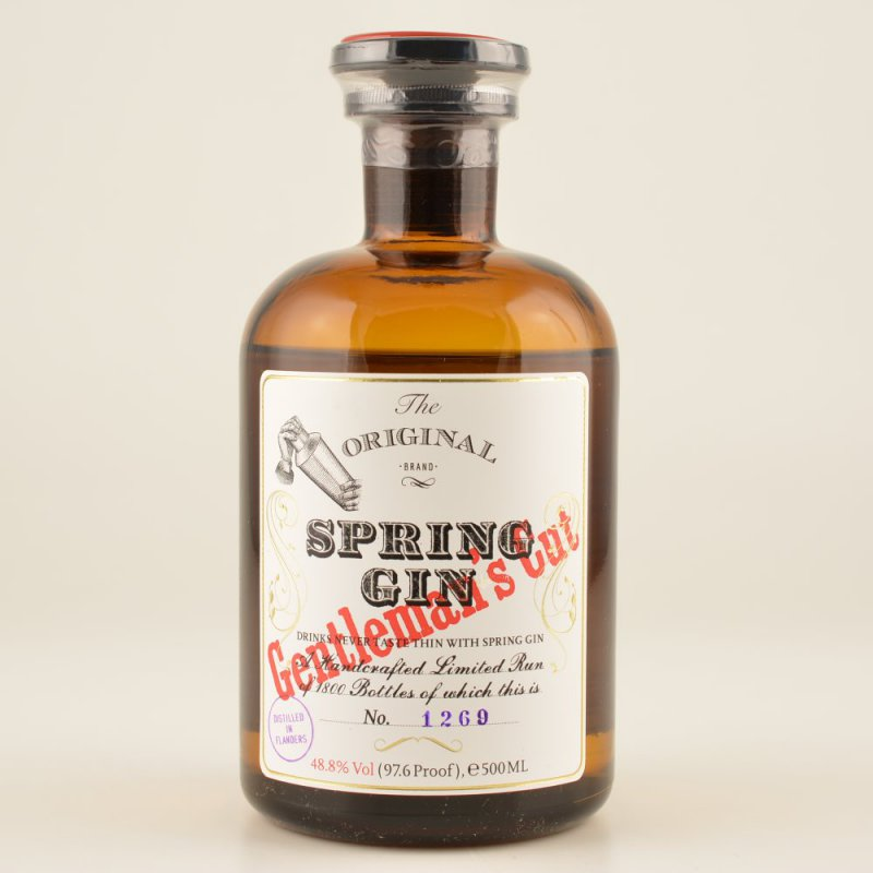 Spring Gin Gentlemans Cut 48,8% 0,5l