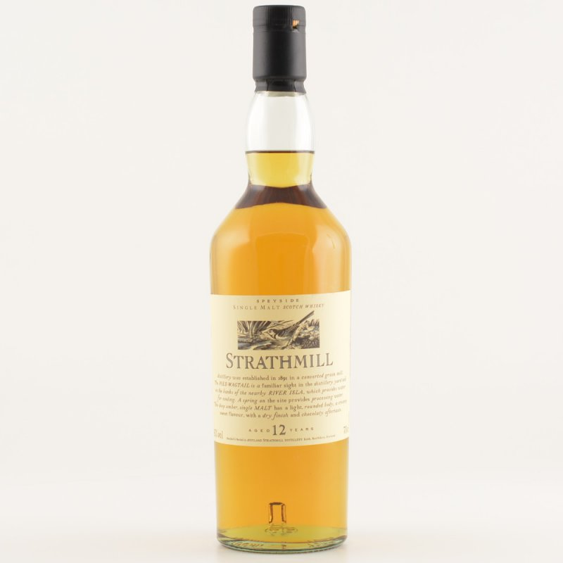 Strathmill 12 Jahre Speyside Whisky 43% 0,7l (97,00 € pro 1 l)