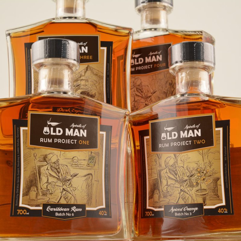Tasting Set RUM PROJECT ALLE 4 (57,11 € pro 1 l)