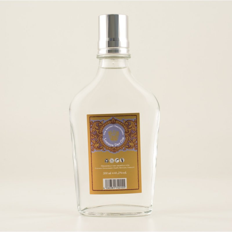 The London Dry Gin 41,2% 0,2l (64,50 € pro 1 l)