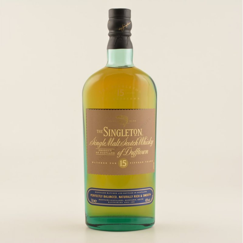 The Singleton 15 Jahre Speyside Whisky 40% 0,7l...