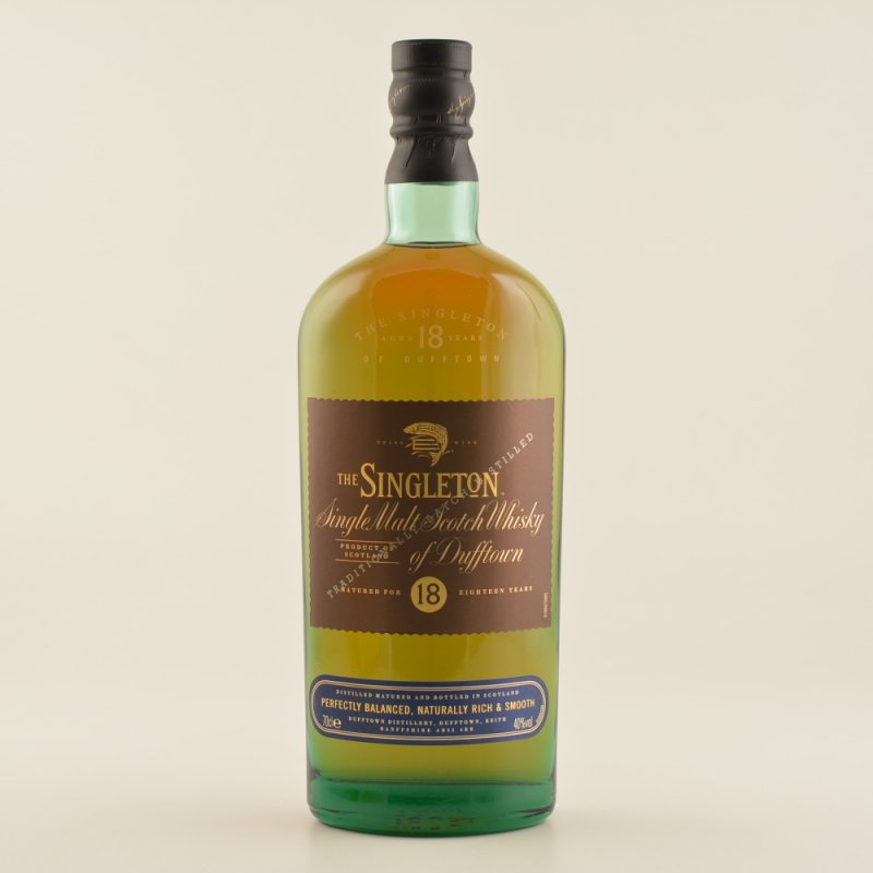 The Singleton 18 Jahre Speyside Whisky 40% 0,7l...