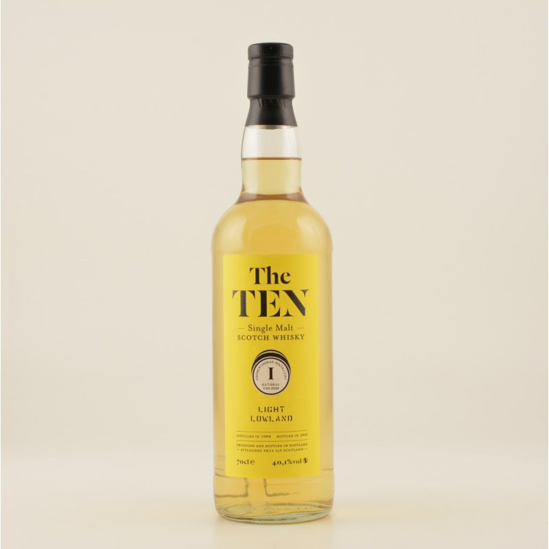 The Ten #1 Light Lowland Whisky (Auchentoshan) ...