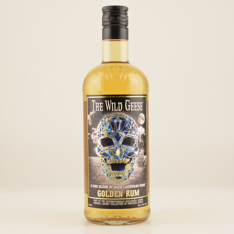 The Wild Geese Golden Rum 37,5% 0,7l