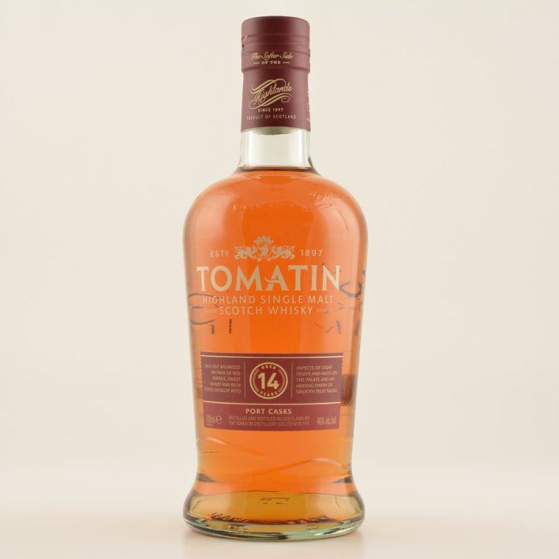 14 Jahre Port Cask Highland Single Malt Whisky 46% 0,7l (71,29 € pro 1 l)
