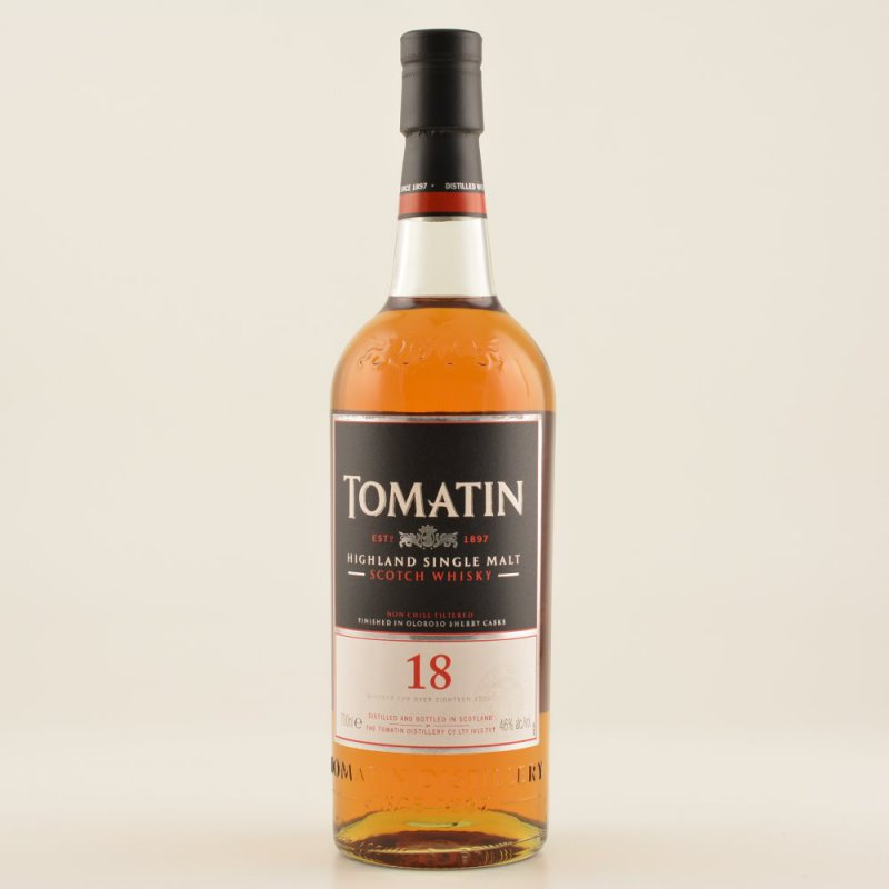 18 Jahre Highland Single Malt Whisky 46% 0,7l (97,00 € pro 1 l)