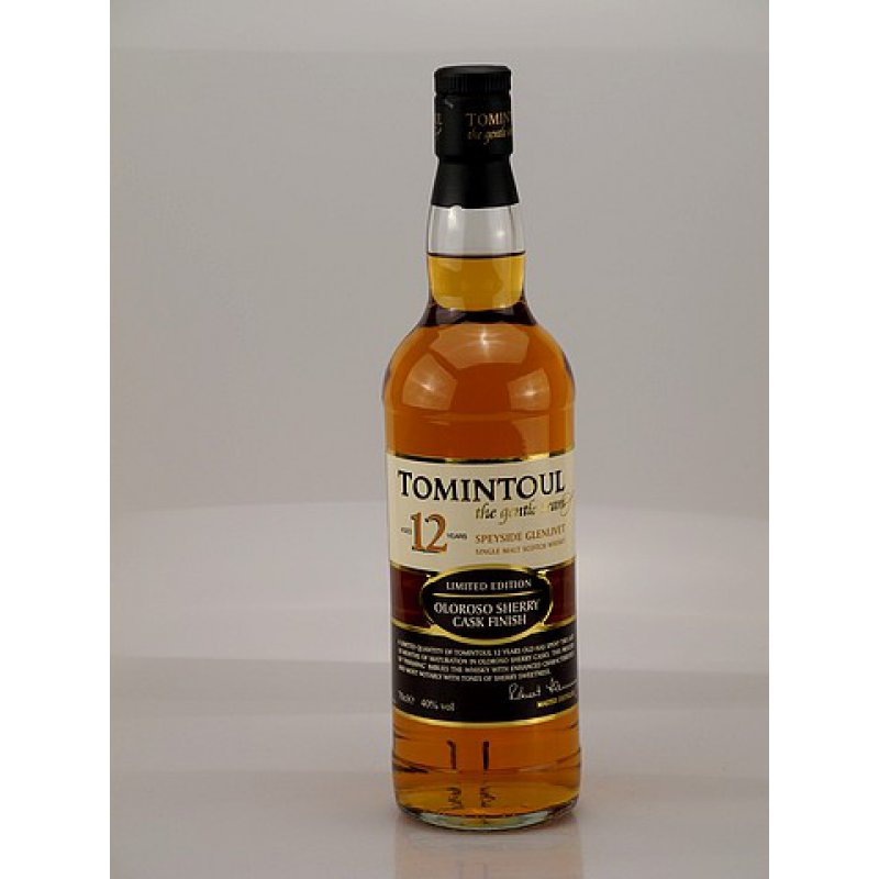 Tomintoul 12 Jahre Speyside Whisky 40% 0,7l