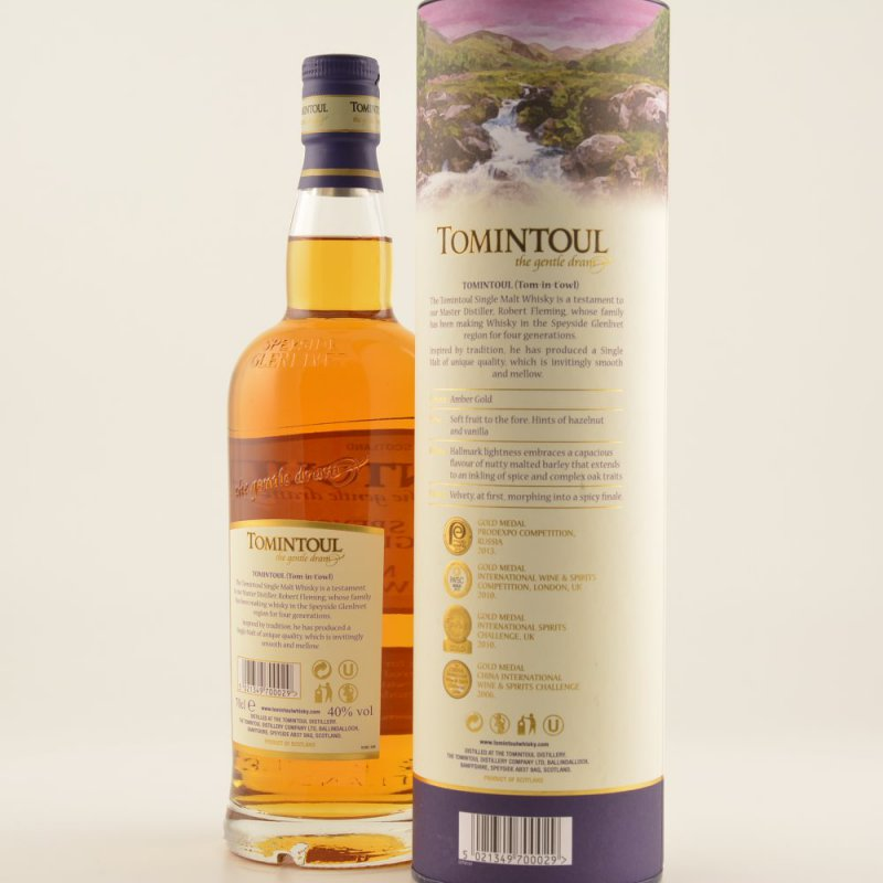 Tomintoul 16 Jahre Speyside Whisky 40% 0,7l