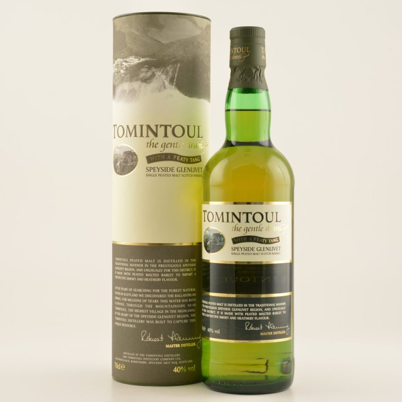 Tomintoul Peaty Tang Speyside Whisky 40% 0,7l (...