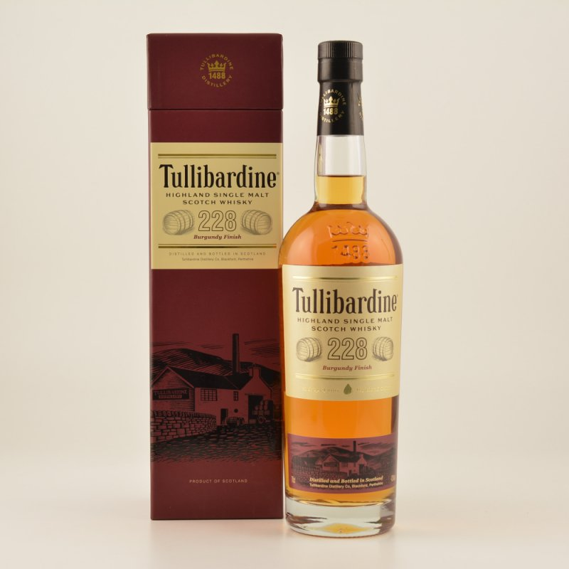 Tullibardine Burgundy Finish Highland Single Ma...