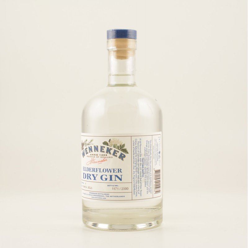Wenneker Elderflower Dry Gin 40% 0,7l