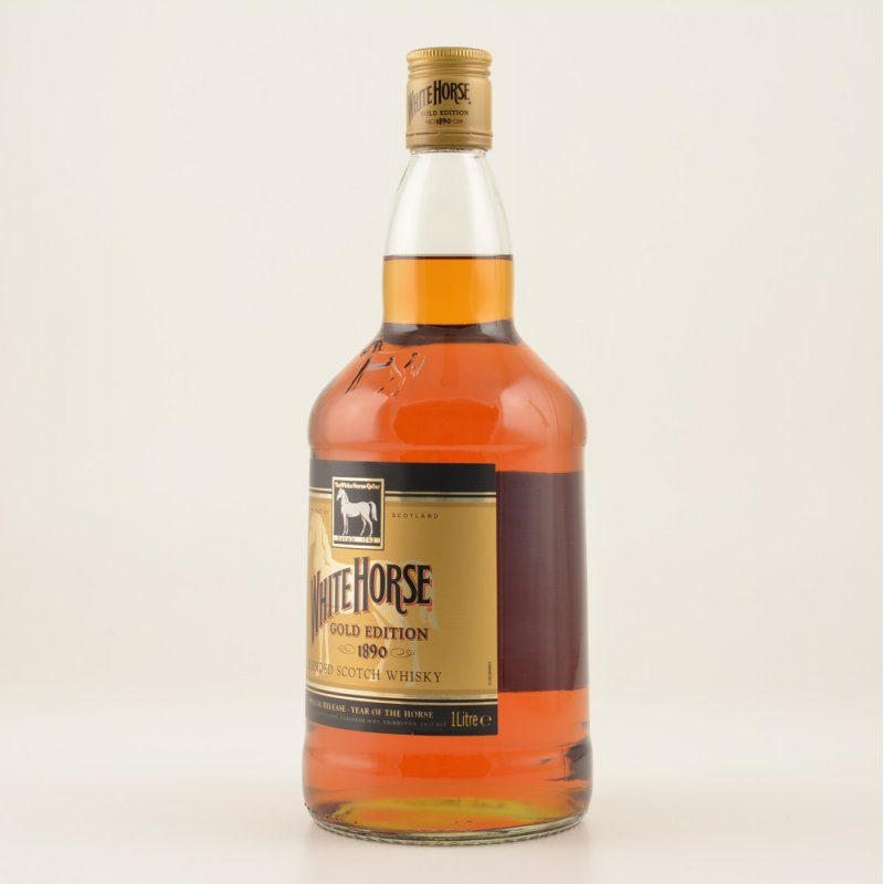 White Horse Gold Edition Scotch Whisky 1890 43% 1,0l