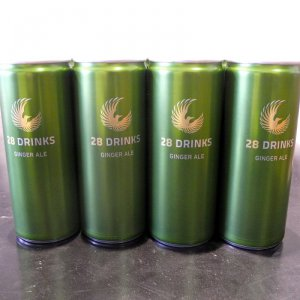 28 DRINKS GINGER ALE 24er Tray 24x0,25l (kein Alkohol)