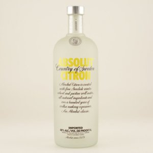 Absolut Vodka Citron 40% 1,0l
