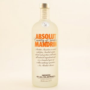 Absolut Vodka Mandrin 40% 1,0l
