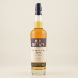 Berry's Own Finest Nicaraguan Rum 11 Jahre 46% 0,7l