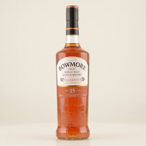 Bowmore 15 Jahre Darkest Sherry Cask Islay Whisky 43% 0,7l