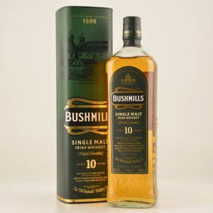 Bushmills 10 Jahre Irish Single Malt Whiskey 40% 1,0l