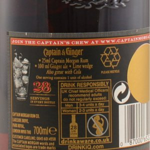 Captain Morgan Black Label 40% 0,7l
