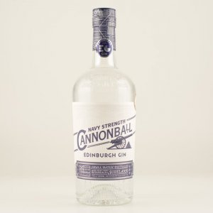 Edinburgh Cannonball Gin Navy Strenght 57,2% 0,7l