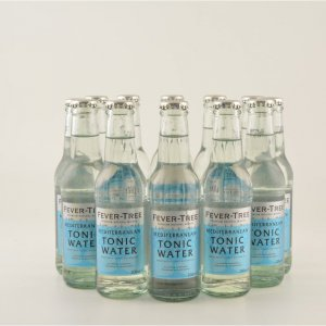 Fever Tree Mediterran Tonic Water 12er Pack 12x0,2l (kein Alkohol)