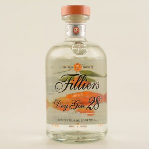 Filliers Tangerine Dry Gin 43,7% 0,5l