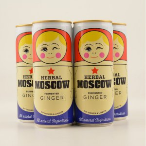 Herbal MOSCOW Fermented Ginger 6er Tray 6x0,25l (kein Alkohol)