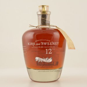 Kirk and Sweeney 12 Years Dominican Rum 40% 0,7l